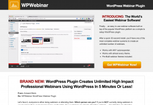 WordPress Webinar Plugin